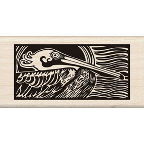 Pelican Wood Stamp_60-00966