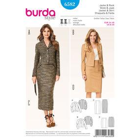 Burda Style Pattern 6582 Coordinates