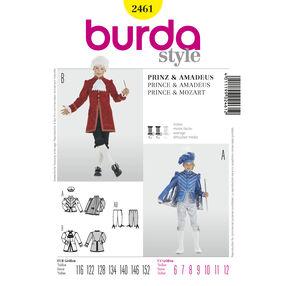 Burda Style Pattern 2461 Prince & Mozart
