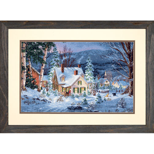 Winter's Hush, Counted Cross Stitch_70-08862