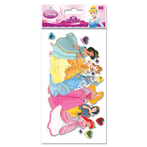 Princesses Jewels Dimensional Stickers_DPJLMP