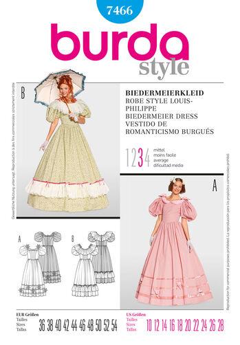 Burda Style, Biedermeier Dress