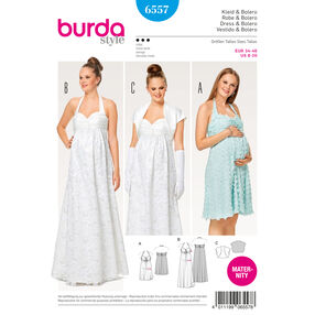 Burda Style Pattern B6557 Misses' Maternity Dress