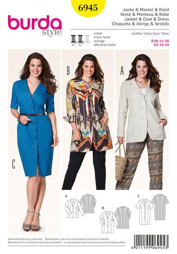 Burda Style Plus to size 60