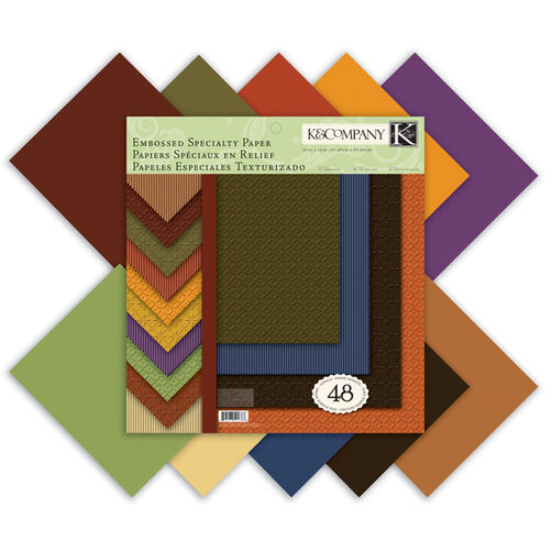 Fall Textured 12x12 Specialty Paper Pad_30-594388