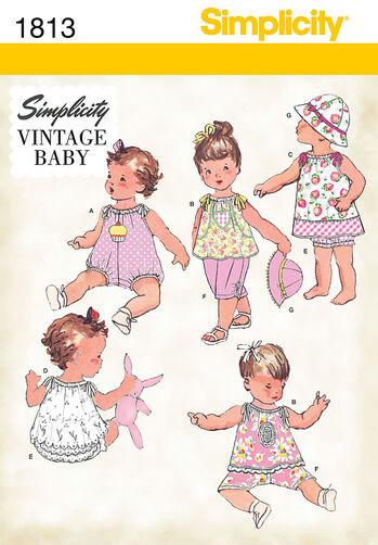 Babies' Vintage Dress & Separates