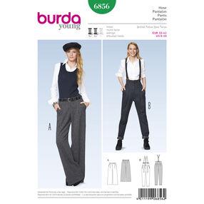Burda Style Pattern 6856 Pants, Jumpsuit