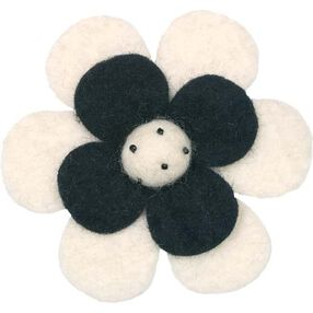Posy Wool Felt Flower_73300