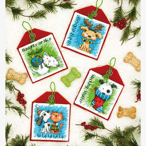 Pet Ornaments, Counted Cross Stitch_70-08907