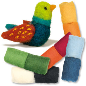 Songbird Felted Characters, Set of 3_149103