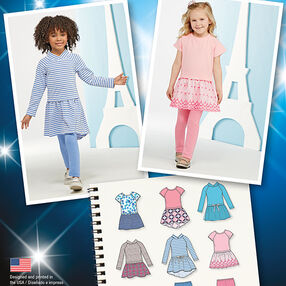 Child's Dress & Leggings Project Runway Collection