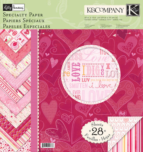 Kelly Panacci Valentine 12x12 Specialty Paper Pad_30-599338