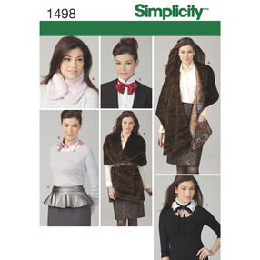 Simplicity Pattern 1498 Misses' Fashion Accessories