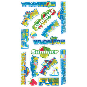 Vacation Words Stickers_52-20397