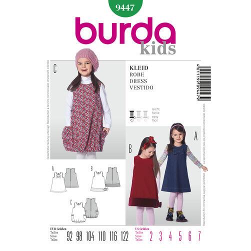 Burda Style Pattern 9447 Dress