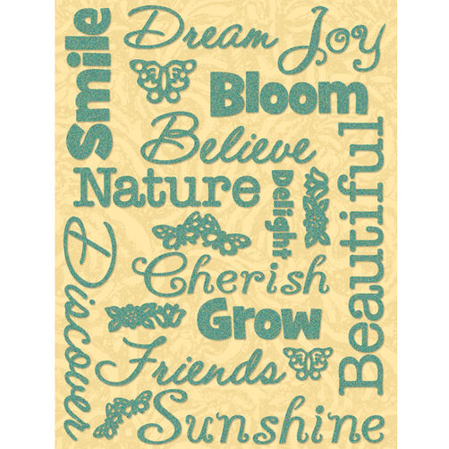 Susan Winget Nature Word Glitter Stickers_30-389168