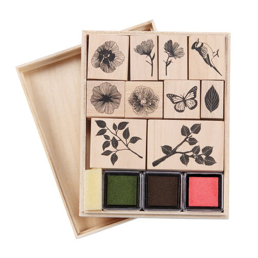 Nature Wooden Stamp Set_40-20006