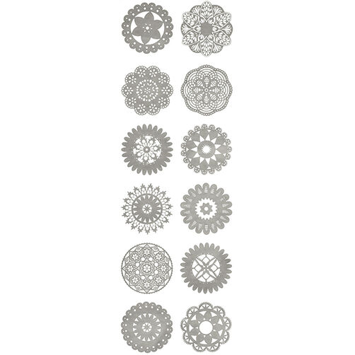 Country Doily Stickers_41-00469