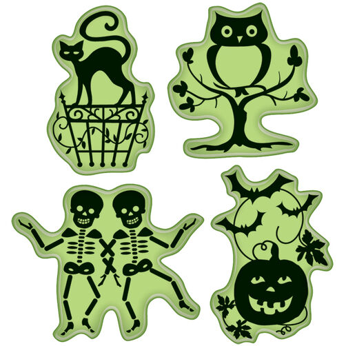 Halloween Icons Cling Stamps_65-32051