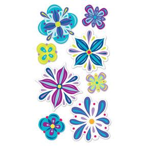 Fantasy Flowers Vellum Stickers_SPP1VEL06