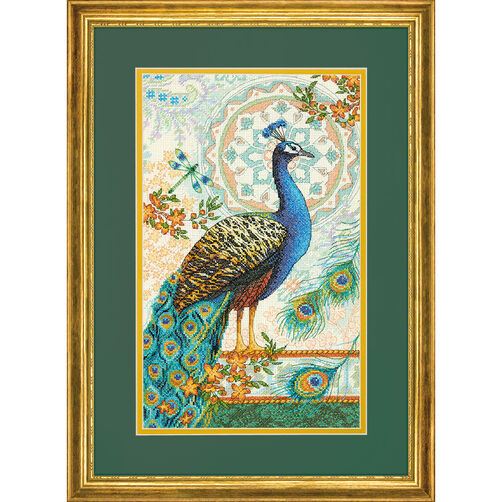Royal Peacock, Counted Cross Stitch_70-35339