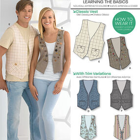 Misses' & Men's Vests