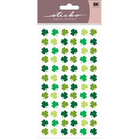 Four Leaf Clover Repeat Stickers_52-00610