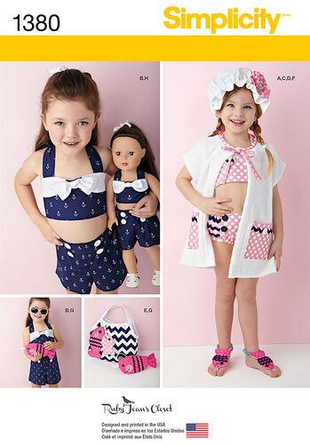 Child's Swim & Play Suit Plus Accessories