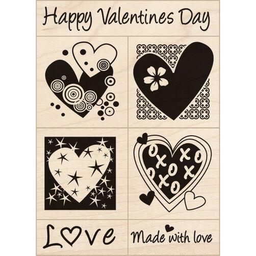 Valentine's Small Wood Set_60-10006