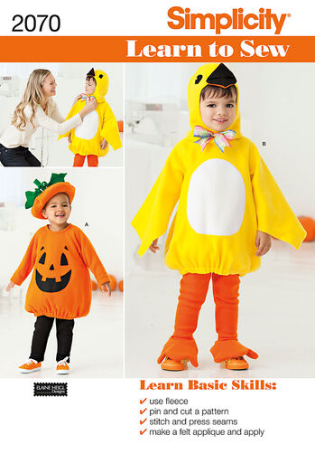 Learn to Sew Toddler's Costumes