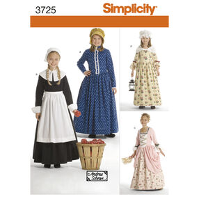 Simplicity Pattern 3725 Child's & Girls' Costumes