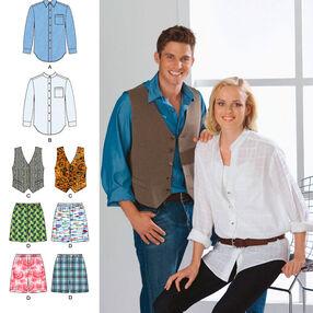 Miss/Men Shirt, Vest and Boxer Shorts