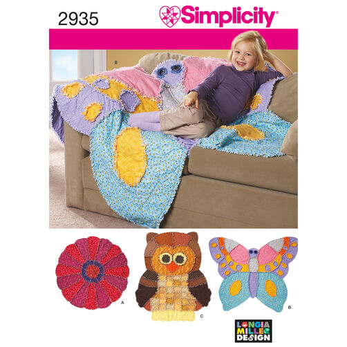 Simplicity Pattern 2935 Rag Quilts