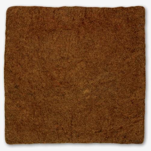 Nutmeg Wool Felt Pillow Cover_72-73653