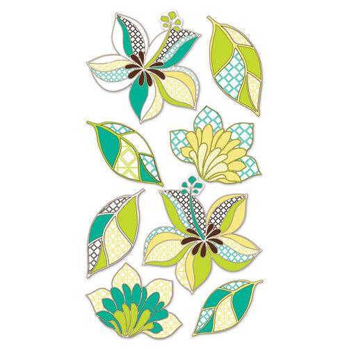 Geo Flowers Classic Stickers_SPCLS72