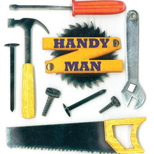 Handy Man Dimensional Sticker _30-578067