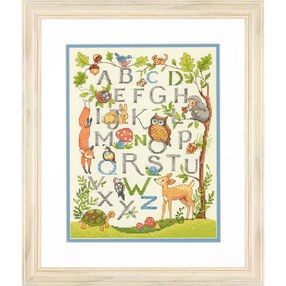 Woodland Alphabet, Counted Cross Stitch_70-35343