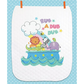 Rub-a-Dub Quilt, Stamped Cross Stitch_70-74368