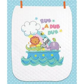 Rub-a-Dub Quilt, Stamped Cross Stitch_70-74368