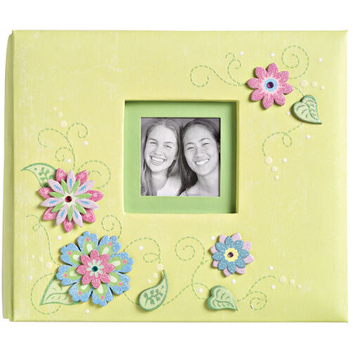 Sparkly Sweet 8.5x8.5 Sparkle Flower Scrapbook_674608