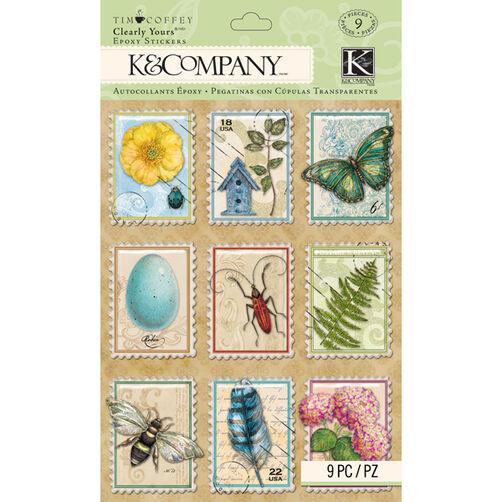 Tim Coffey Foliage- Clearly Stickers_30-672291
