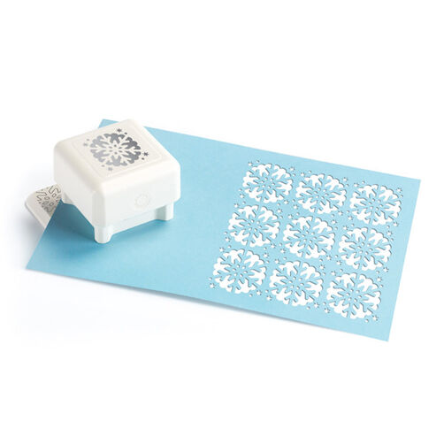 Scallop Snowflake Pattern Punch All Over the Page™_42-91003