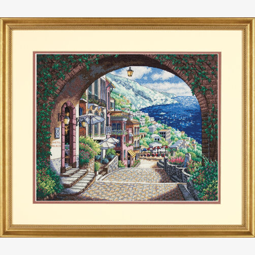 Coastal View, Counted Cross Stitch_70-35265