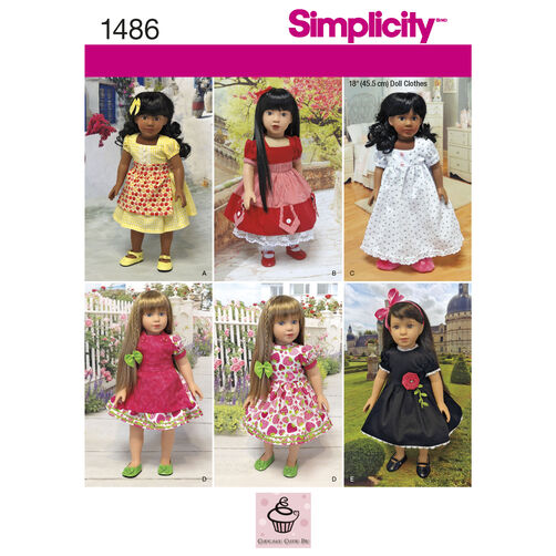 "Vintage Style 18"" Doll Clothes"