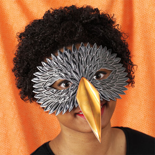 Crow Decorative Mask _48-20306