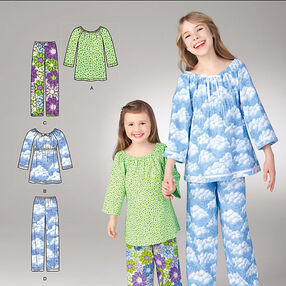 It's So Easy Child's and Girls' Top & Pants