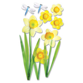 Vellum Daffodil Stickers_SPJV010