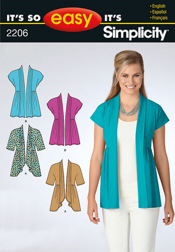 It's So Easy Misses' Knit Cardigan