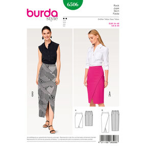 Burda Style Pattern B6506 Misses' Waistband Skirt
