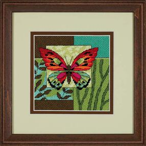 Butterfly Impression, Needlepoint_07222